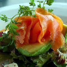 Hot smoked Salmon Salad Nicoise