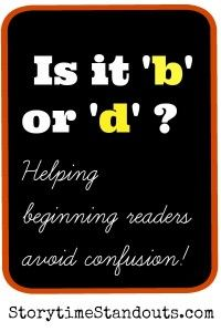 5 easy ways to help children with b d confusion #prek #kindergarten #letterrecognition