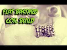 In this vaping tutorial I show you vapers how to build a Flat Bastard Coil using 32 gauge kanthal and flat ribbon wire. The rebuildable dripping atomizer I w...