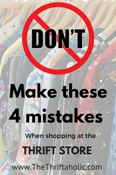 thrifting advice Don't make these 4 mistakes when shopping at the thrift store – Second Hand fashion Thrift Store Outfits, Thrift Shop Outfit, Thrift Store Refashion, Thrift Store Shopping, Thrift Store Crafts, Shopping Hacks, Thrift Stores, Upcycled Clothing Thrift Store, Thrift Clothes
