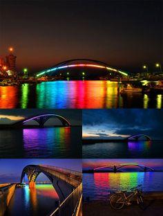 Rainbow Bridge in Taiwan