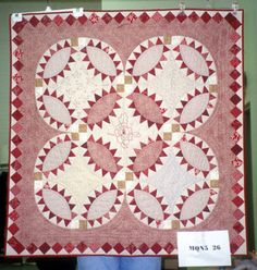 Ruby Pickle Dish, Michigan State University Museum: Michigan Quilt Project