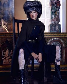 Victoria's Secret Angel Alessandra Ambrosio trades in lingerie and wings for snow-ready winter styles in the December 2015 cover story from Harper's Bazaar Kazakhstan. The Brazilian beauty gets bundled up in fur coats, over-the-knee boots and cold weather hats in the Dennis Leupold lensed images. Stylist Jennifer Mazur makes sure Alessandra shines on the cover …