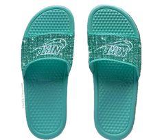 0136c54913d7b6 Nike Benassi JDI women s slide sandals(blue)
