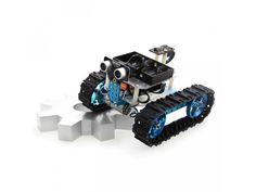 Starter Robot Kit. Jedna stavebnice, dva roboti a spousta možností. Ovládání z mobilu nebo dálkovým ovladačem a jednoduché grafické programování. To je Starter Robot Kit, ideální stavebnice pro začátečníky a děti, kteří se chtějí naučit sestavovat a programovat vlastního robota a užít si u toho spoustu zábavy. Robot Kits, Mobiles, Ranger, 3 D, Bluetooth, Passion, Robotics, Blue Tooth, Mobile Phones