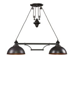 artistic lighting farmhouse 2light oiled bronze at myhabit
