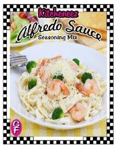 Alfredo Sauce seasoning mix