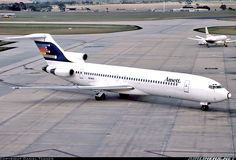 Ansett Boeing 727-277/Adv VH-RMY at Melbourne-Tullamarine, April 1985. (Photo: Daniel Tanner)