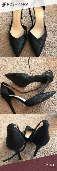 Jessica Simpson Pumps Black Jessica Simpson Pumps, size 12, worn twice indoors Jessica Simpson Shoes Heels