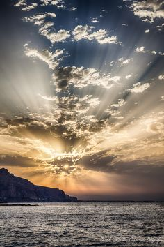 Mindset on Sunrise in Almeria, Spain.Sunrise in Almeria, Spain. Beautiful Sky, Beautiful Landscapes, Beautiful World, Beautiful Places, Pretty Sky, All Nature, Amazing Nature, Sky And Clouds, Belle Photo