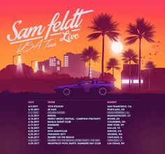 #housemusic Sam Feldt Announces North American Tour: Platinum-selling Dutch DJ & Producer Sam Feldt has revealed the dates for his…