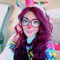 Cute Clown Costume, Cute Clown Makeup, Clown Halloween Costumes, Fall Halloween, Halloween Makeup, Female Clown, Makeup Supplies, Clowns, Clown Faces