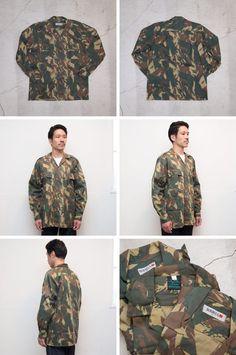 Introduction独特のラフな質感&サイズ感が魅力South African Army Camo Shirt古き良きミリタリーの雰囲気ただよう南アフリカ・旧トランスカイ軍の使用していた厚手のシャ…