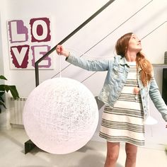 Lámpara sphere gigante
