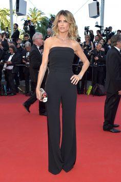 Alice Taglioni au Festival de Cannes 2017, joue les stars en pantalon.
