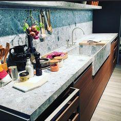 Salone De Mobile Highlights Day 1: Dada kitchens display  #dada #eurocucina #milandesignweek #salonedelmobile2016 #kitchendesign