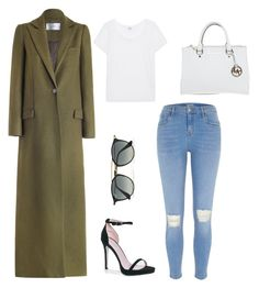 """""""GH"""" by laurautria ❤ liked on Polyvore featuring Splendid, Zimmermann, River Island, Boohoo, Ray-Ban and Michael Kors"""