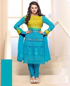 Online Shopping: Churidaar Salwar Suit, Buy Online Shopping: Churidaar Salwar Suit For Women, B-Town Favourites online, Shopping India at Low Price, sabse sasta sabse ac - iStYle99.com