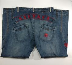 7bdf0e70 Marithe Francois Girbaud 38M Vintage 90s Hip Hop Baggy Jeans Inseam 34