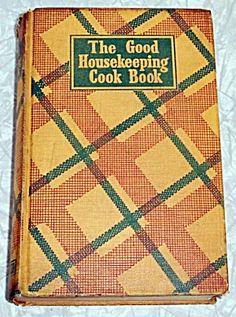 Good Housekeeping Cook Book 1942