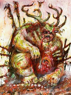 Great Unclean One, Greater Daemon of Nurgle, Chaos Daemons