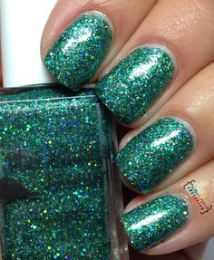 Blue Eyed Girl Lacquer Never Look Back