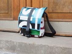 DIY-Anleitung: Messenger Bag Tasche aus Plane nähen via DaWanda.com