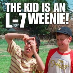 The sandlot! One of the best movies Love Movie, Movie Tv, 90s Movies, Dodgers, Lol, Movie Quotes, Funny Quotes, Tv Quotes, Funny Memes