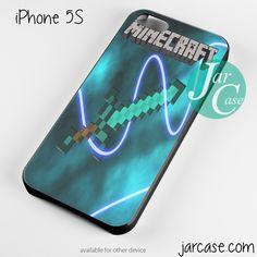 minecraft sword Phone case for iPhone 4/4s/5/5c/5s/6/6 plus