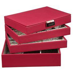 Amazoncom Stackers Jewelry Box Storage System Pale Blue with