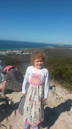 Apron Laurann on the summit of Mt Coolum  overlooking the Sunshine Coast of Queensland.  #apronlaurann #apronsonajourneytohelpfightpoverty www.aprons4action.org.au Poverty In India, Sunshine Coast, Aprons, Travelling, Journey, Summer Dresses, Board, Women, Summer Sundresses