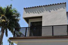 """idea for porch railing - Balcony railing in 2"""" Mocha WG"""