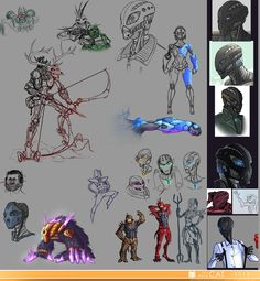 Sketchdump 25.10.2015 by the-gordon-freeman.deviantart.com on @DeviantArt