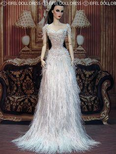 Check out the new dress on my eBay shop :) http://www.ebay.com/usr/eifeldolldress   by eifel85, eifel doll dress