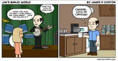 """The """"funny side"""" of Banjos & Banjo Players"""