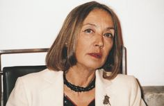 A square in Florence dedicated to Oriana Fallaci