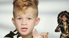 "Boy Declares Moschino Barbie Is ""So Fierce"" In New Ad"
