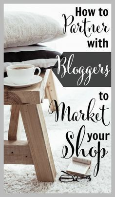 How to Partner with Bloggers to Market Your Shop - Wow. love how this etsy seller partnered with influencers on Instagram to get a ton of sales and also get new product ideas! | brilliantbusiness...