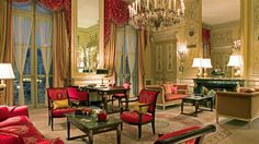 Guests at the Ritz in Paris have 3 personal staff members assigned to them at all times.