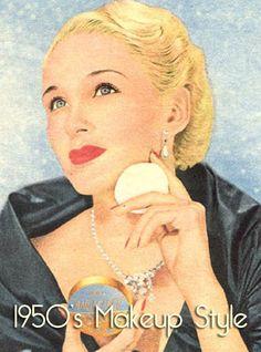 1950s makeup