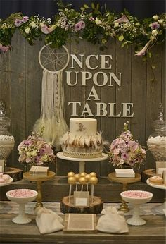20 Floral Ideas for Boho Wedding D?cor Interiorforlife.com Gypsy Boho Chic at Owl Creek                                                                                                                                                                                 More