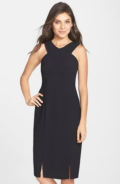 Marc New York by Andrew Marc Crepe Sheath Dress | Nordstrom