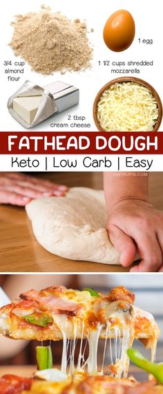 Ketogenic Recipes, Low Carb Recipes, Diet Recipes, Healthy Recipes, Ketogenic Diet, Pizza Recipes, Lunch Recipes, Vegetarian Recipes, Crockpot Recipes