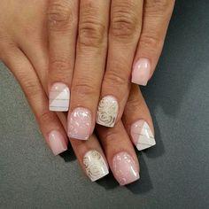 Instagram photo by thenailboss nail nails nailart n gel pinterest nagelschere - Nageldesign braun beige ...
