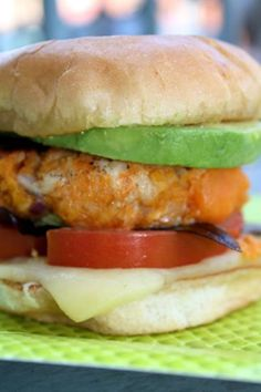 Sweet Potato Turkey Burgers - Going to try to sneak this past my strictly meat & regular potatoes husband.  Looks yummy and super healthy.