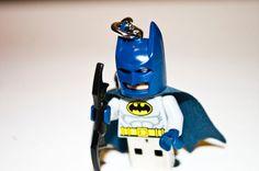 8GB Batman USB Lego Minifigure Flash Drive with Key by JustJest, $45.00