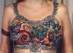 Facebook Allows Mastectomy Photos: Tattooed Model In Controversial Picture Speaks Out