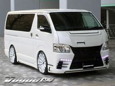 SECOND HOUSE VOGUE N4 Toyota Van, Big Boyz, Toyota Hiace, Minivan, Custom Vans, Pit Bulls, Cool Cars, Transportation, Decals