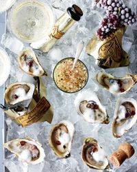Oysters Rocafella // More Amazing Oyster Recipes: http://www.foodandwine.com/slideshows/oysters #foodandwine
