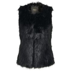 Boohoo Melanie Black Faux Fur Gilet ( 60) found on Polyvore Black Faux Fur  Gilet 234032852a